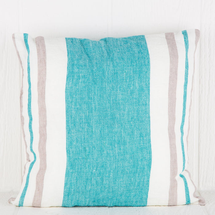 Turquoise Roma Pillow (Square)