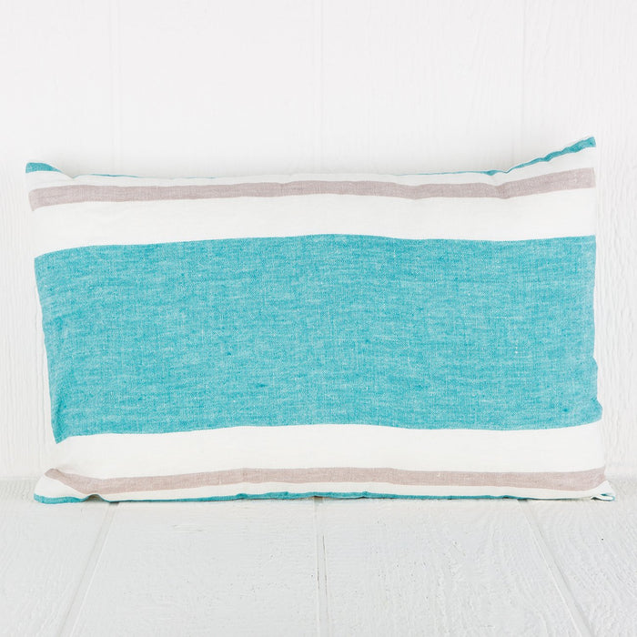 Turquoise Roma Pillows (Rectangle)