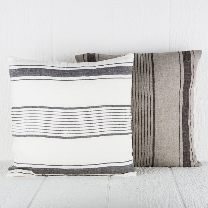 White & Grey Roma Pillow