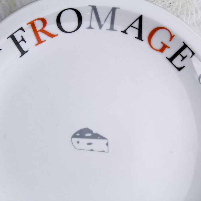 White Fromage Plate