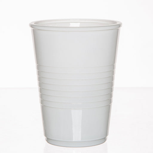 White Glass Party Cup
