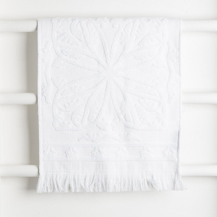 White Hammam Towel Collection