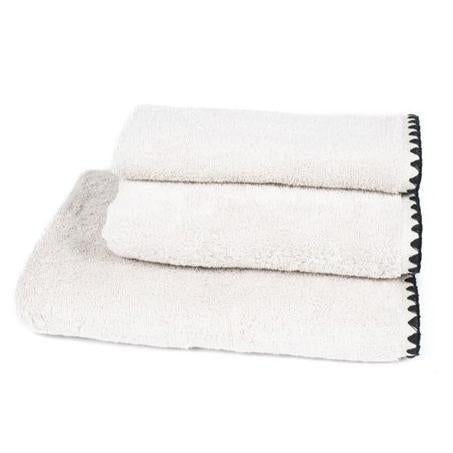 White Issey Towel Collection
