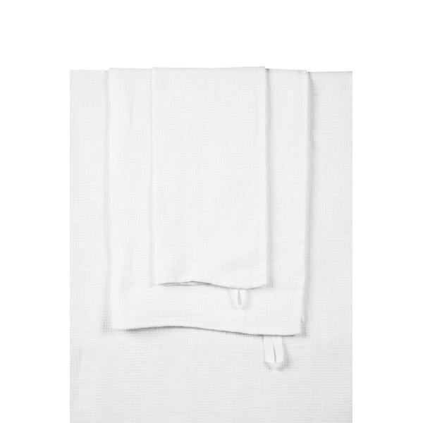White Java Hand Towel
