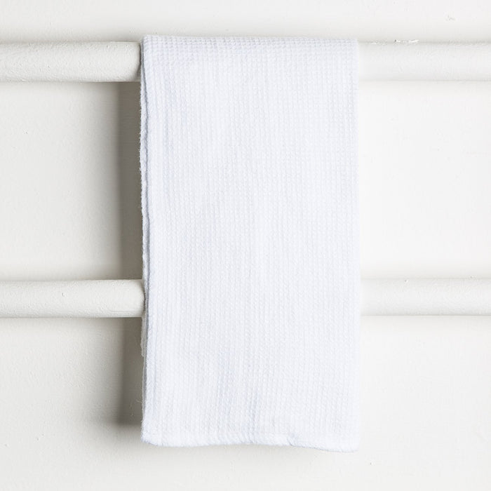 White Java Washcloth