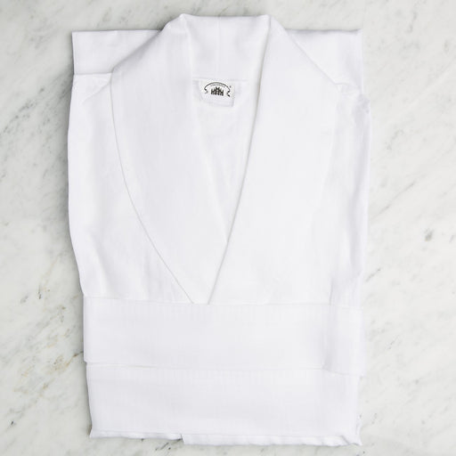 Chic White Linen BathRobes