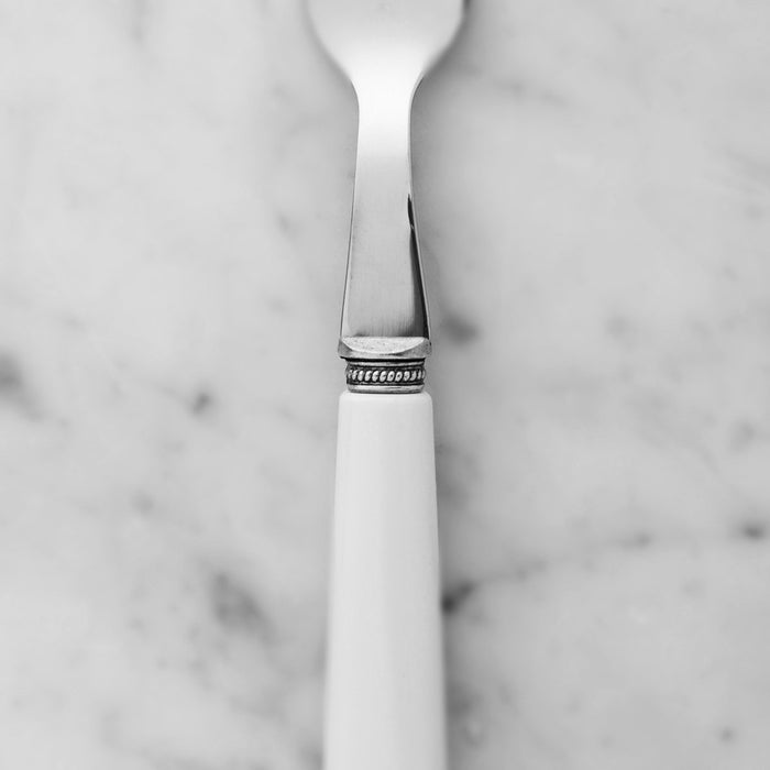 White Lucie Cutlery (Set of 4)
