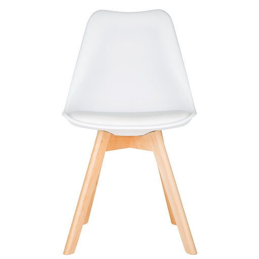 White Scandinavian Tulip Chair