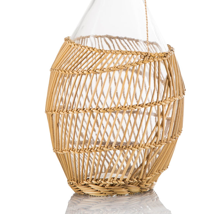 Wicker Wrapped Alpine Pitcher (2L)