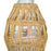 Wicker Wrapped Hitch Pitcher (2L)