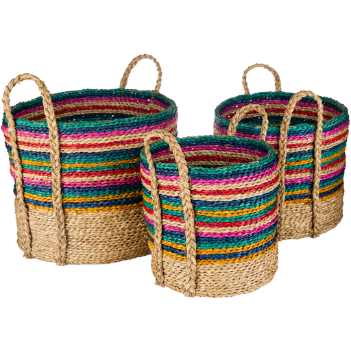 Woven Seagrass Basket (Small)