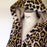 (XXL) Roberto Cavalli Bravo Leopard 100% Cotton Bathrobe with Hood