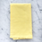 "Yellow 100% Soft Cotton Single Stitch Napkin (18"")"