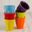 Yellow 2oz Colorful Ceramic Mini Cup