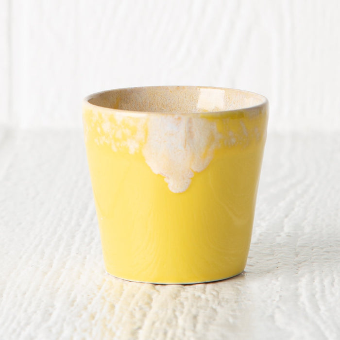 Yellow 6oz Lungo Cup