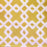 "Yellow Chain Paper Napkins (8"")"