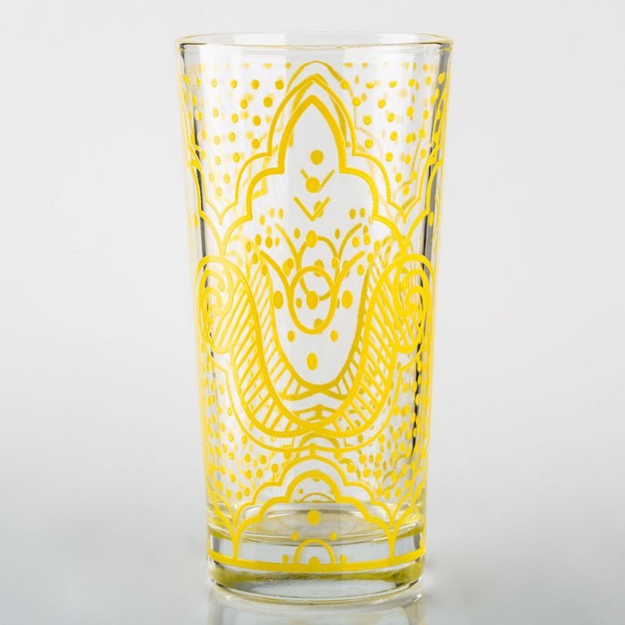 Yellow Chiba Moroccan Water Glass