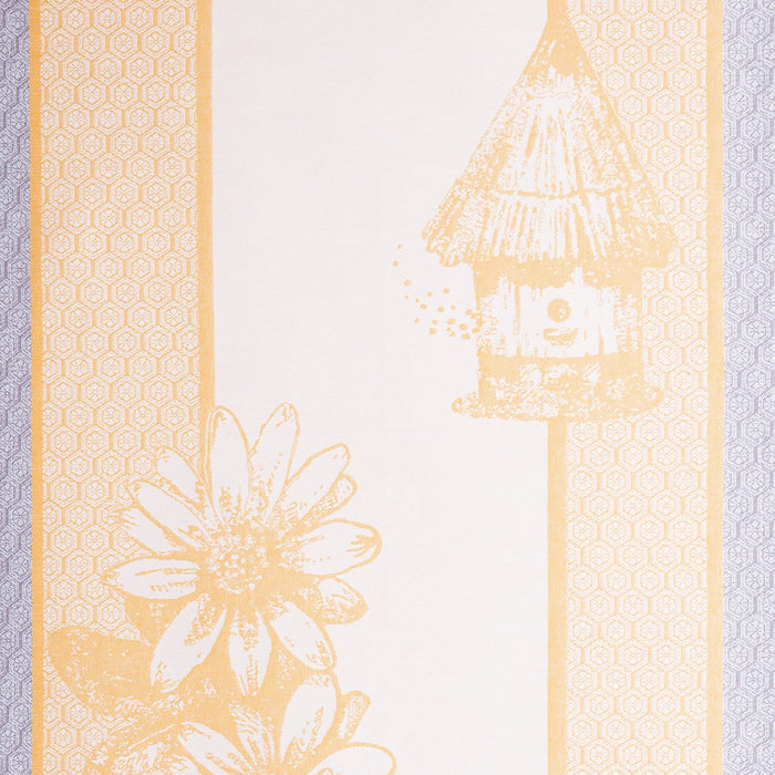 Yellow Flower 100% Cotton Tea Towel