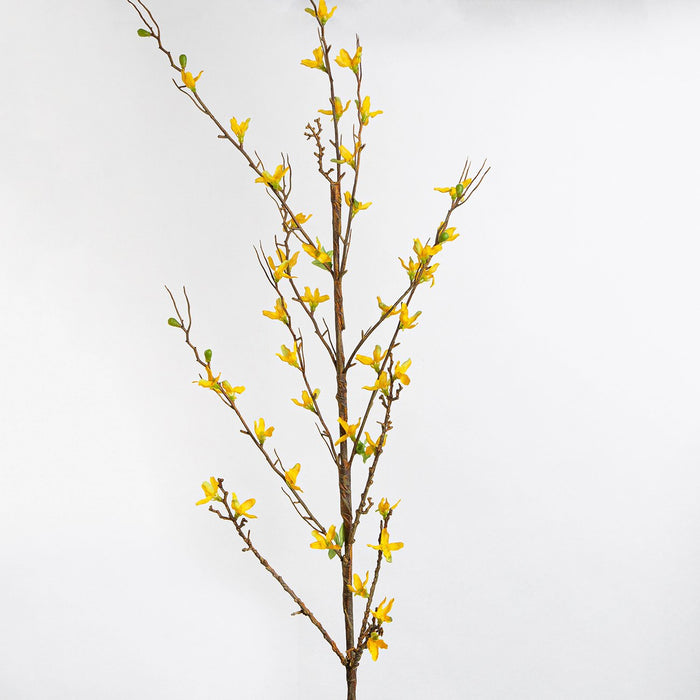 Yellow Forsythia Silk Flower