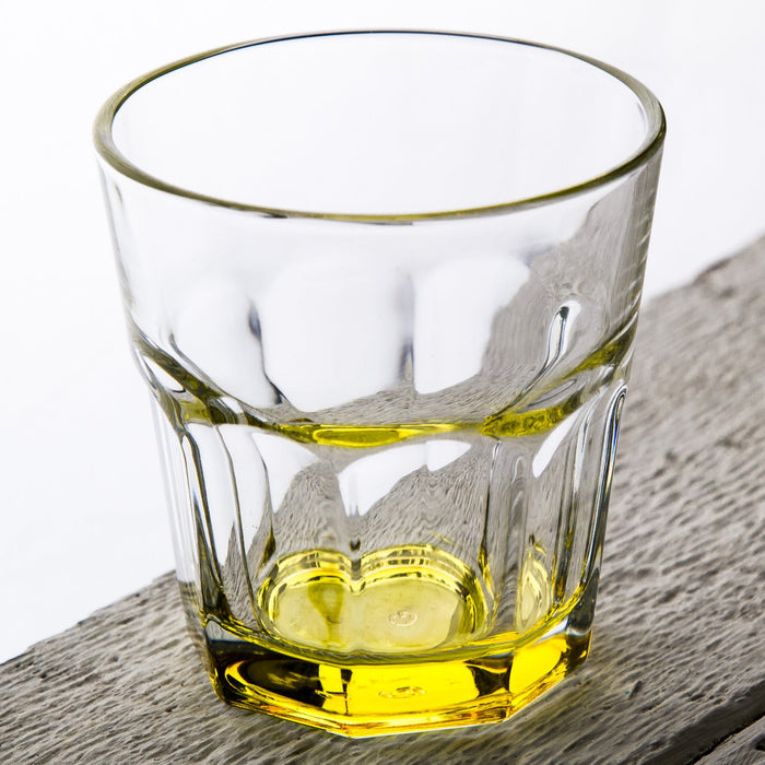 Yellow Optical Drinking Cup