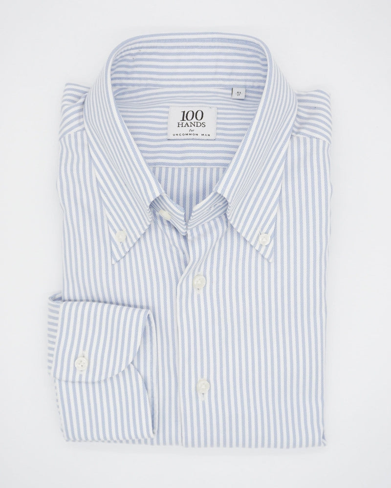 Oxford Cloth Button Down Shirt - Blue