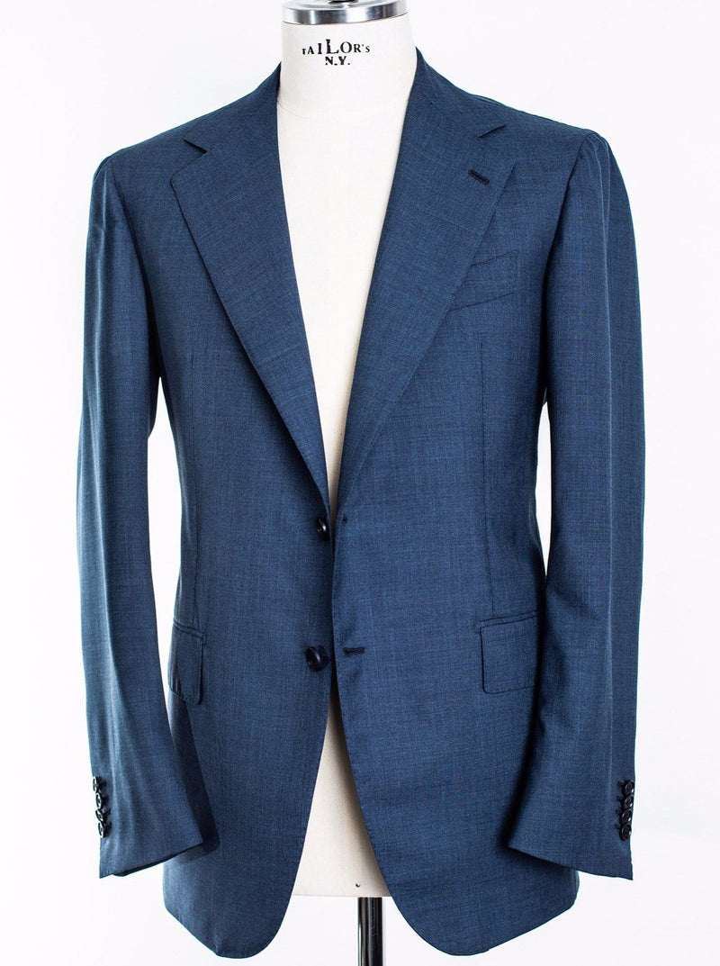 Mid Blue Lightweight 'Lee' 2 Button Suit