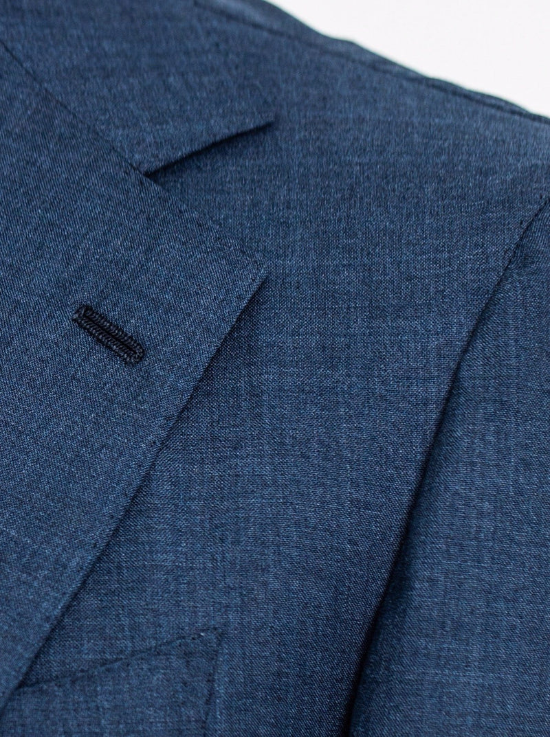 Mid Blue Wool 'Henry' Suit