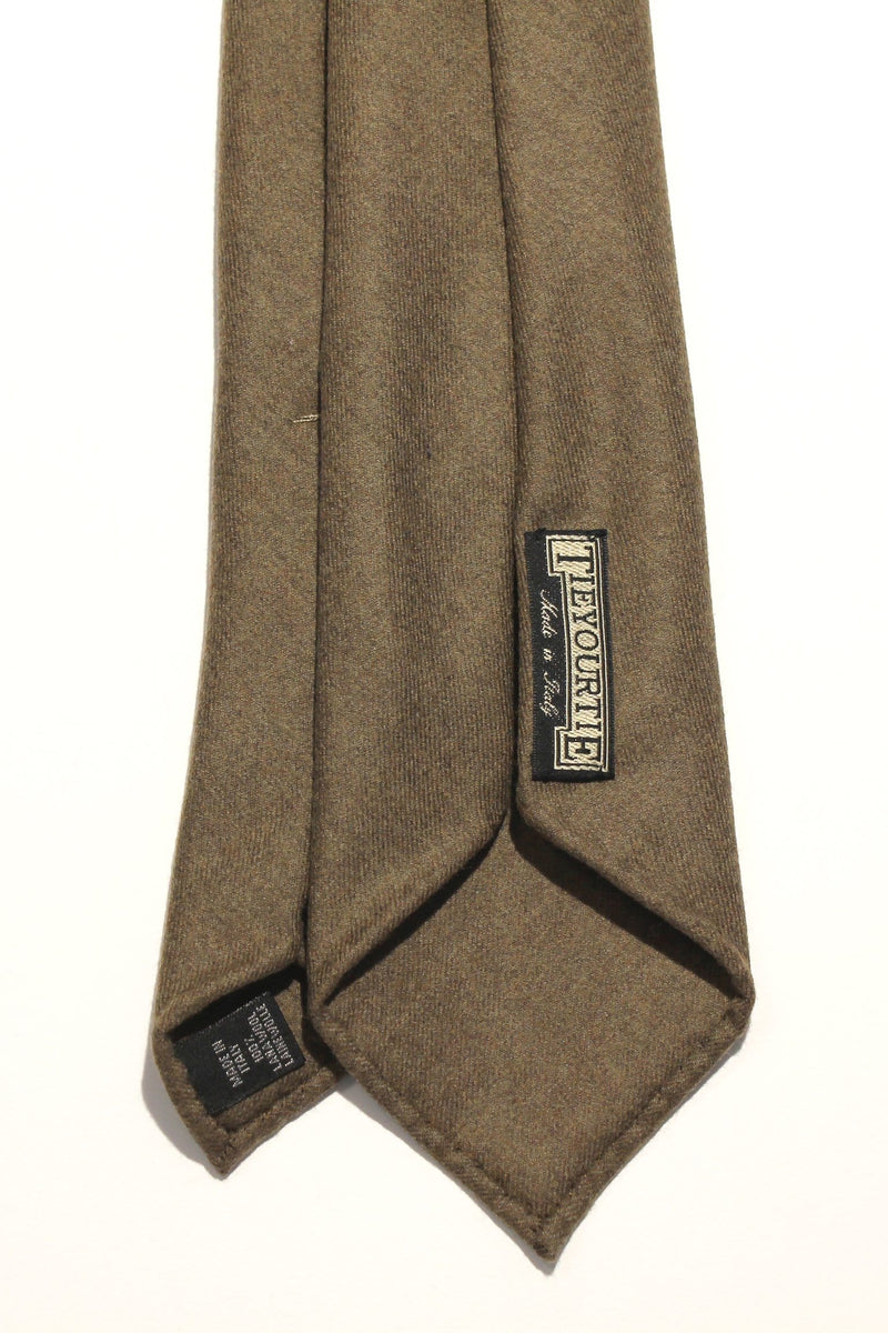 Seven Fold Flannel - Brown