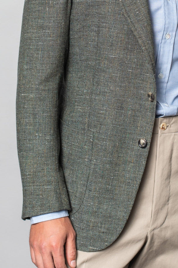 Henry Jacket - Zegna Green Donegal