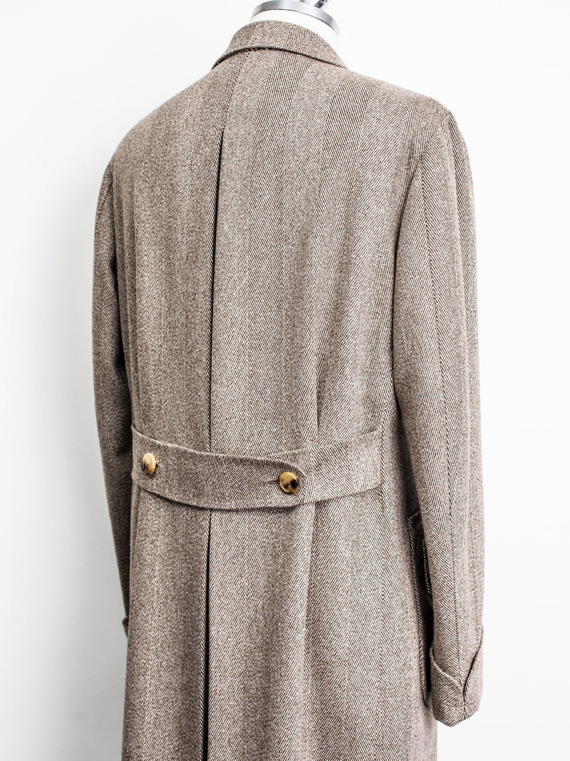 Overcoat - Herringbone Wool - 50