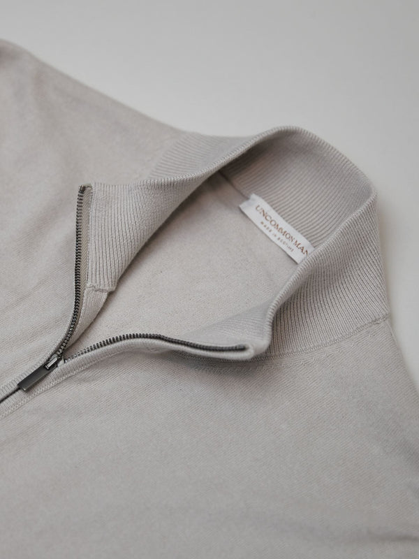 Silverbelly Cotton/Cashmere-blend Zip Through