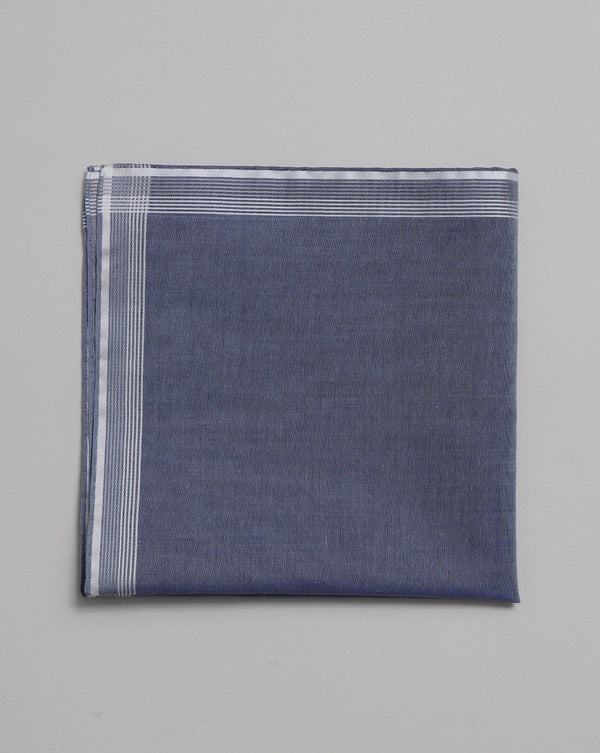 Sky Blue Cotton Pocket Square