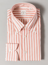 Salmon Stripe Button Down