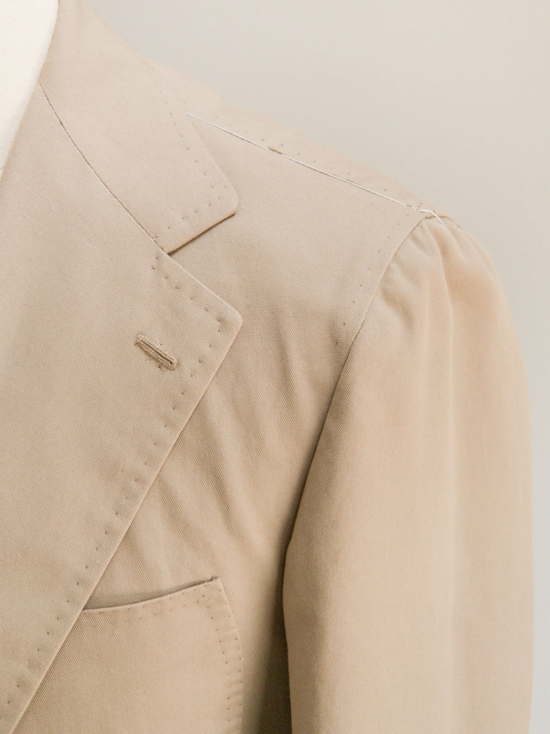 Henry Jacket - Pure Cotton Khaki