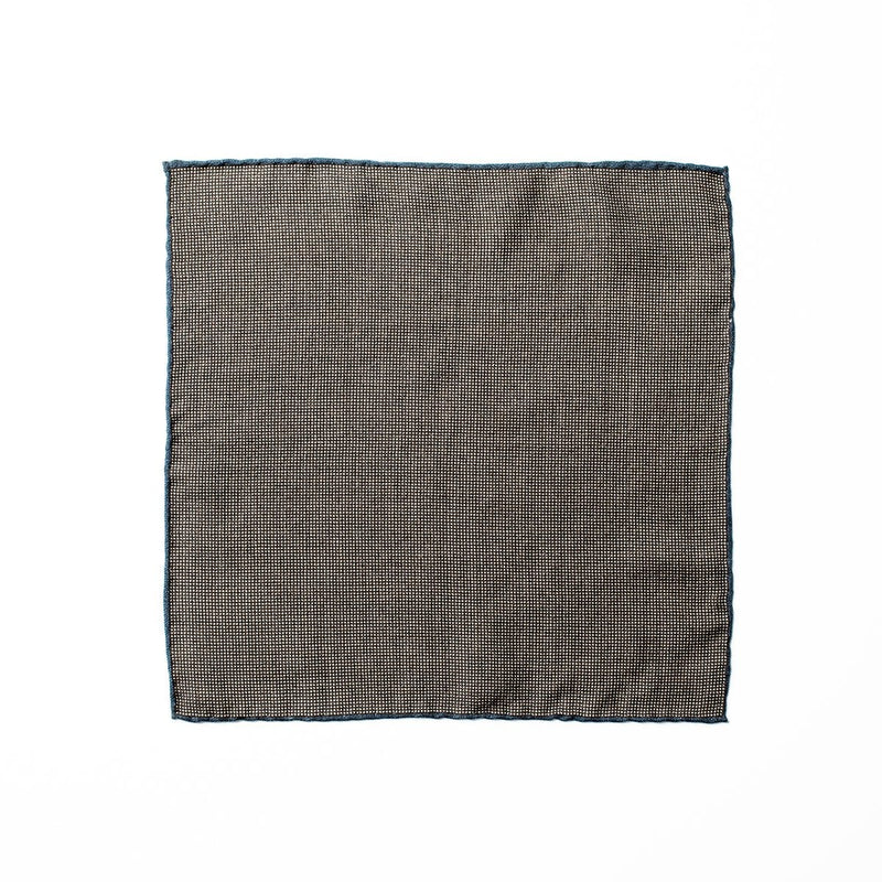 Wool Pocket Square - Brown