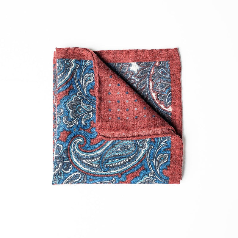 Pocket Square - Red