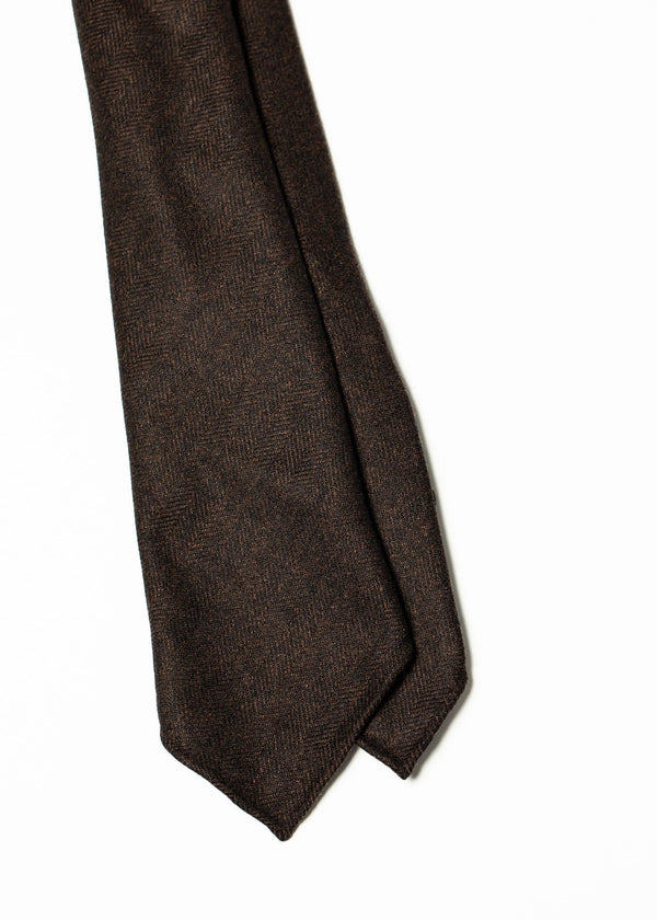 Seven Fold Cashmere - Brown