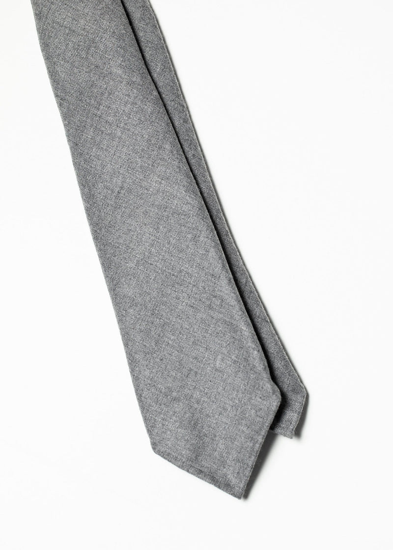 Seven Fold Flannel - Light Grey
