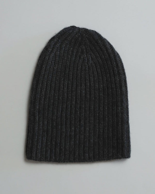Cashmere Watch Cap - Charcoal