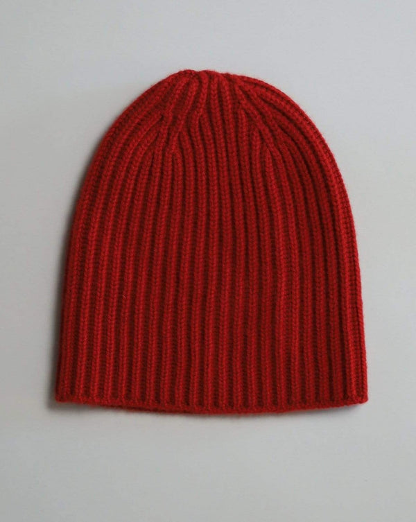 Cashmere Watch Cap - Red