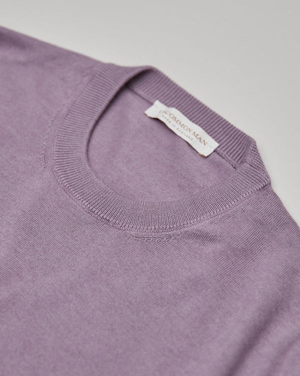 Melanzana Cotton/Cashmere Round Neck