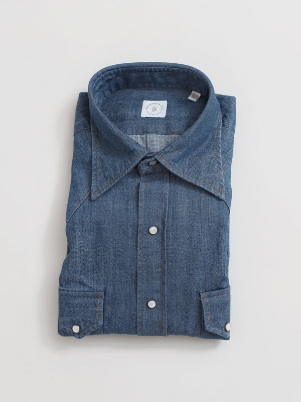 Sundance Denim Western Shirt