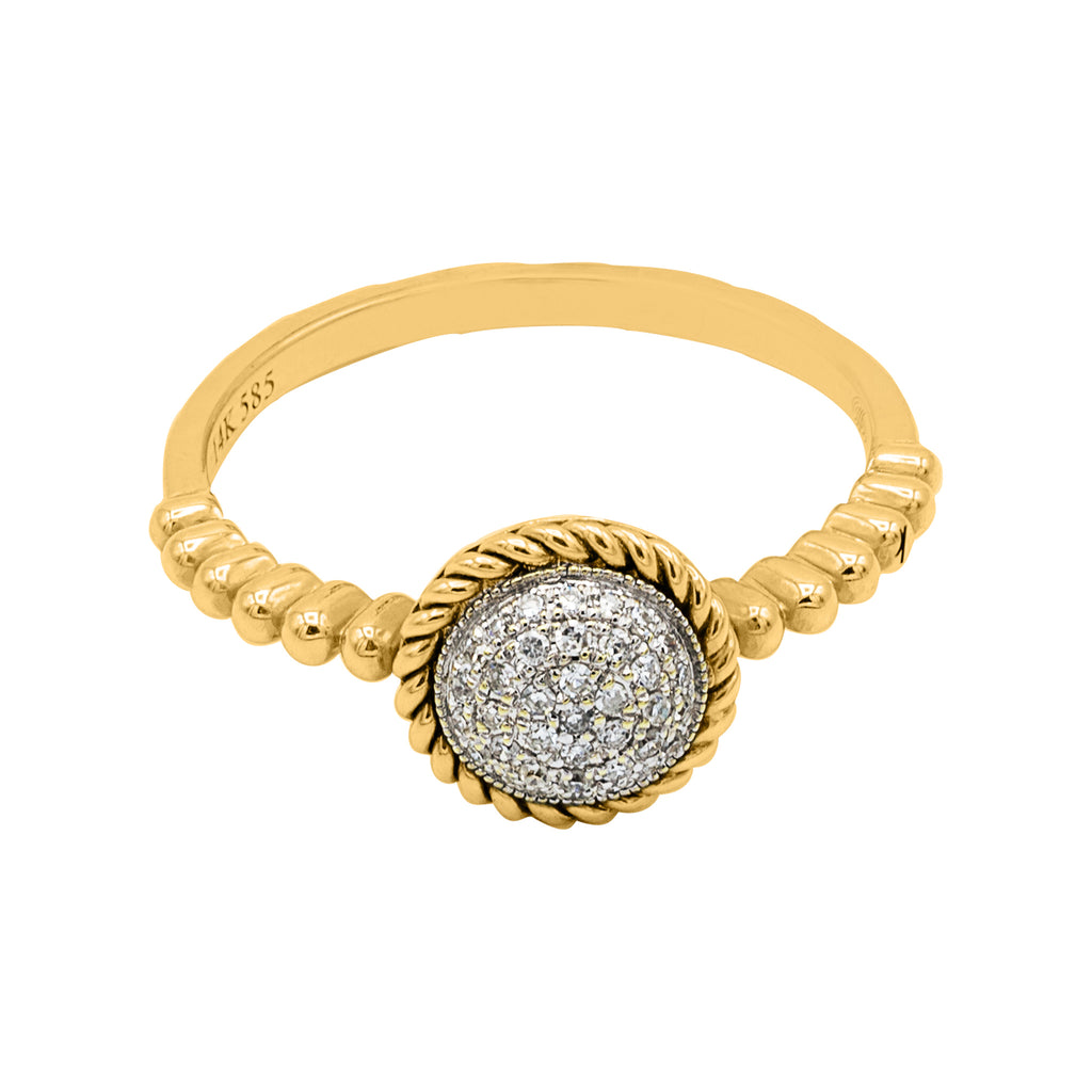 1/4 CT. Diamond Ring in 14K Gold