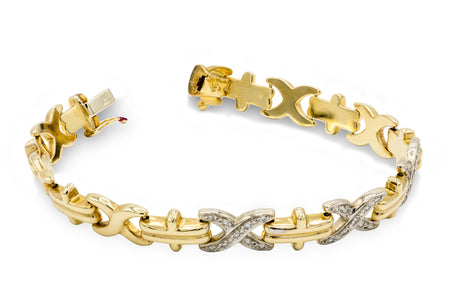 1 CT. Diamond Hugs and Kisses Bracelet
