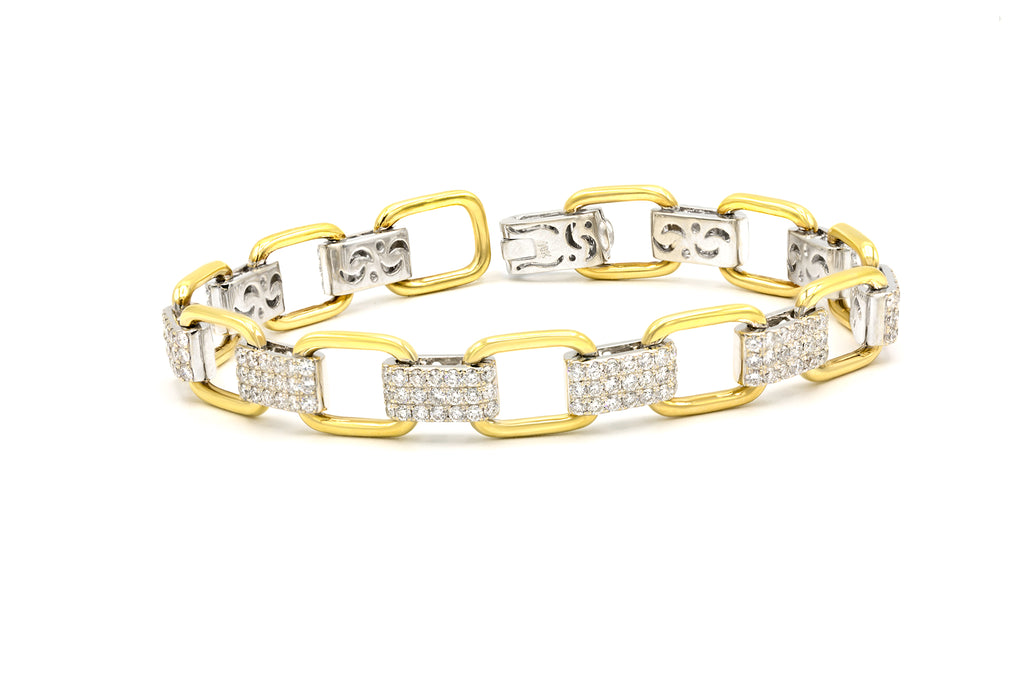 3.33 CT. Diamond Link Bracelet