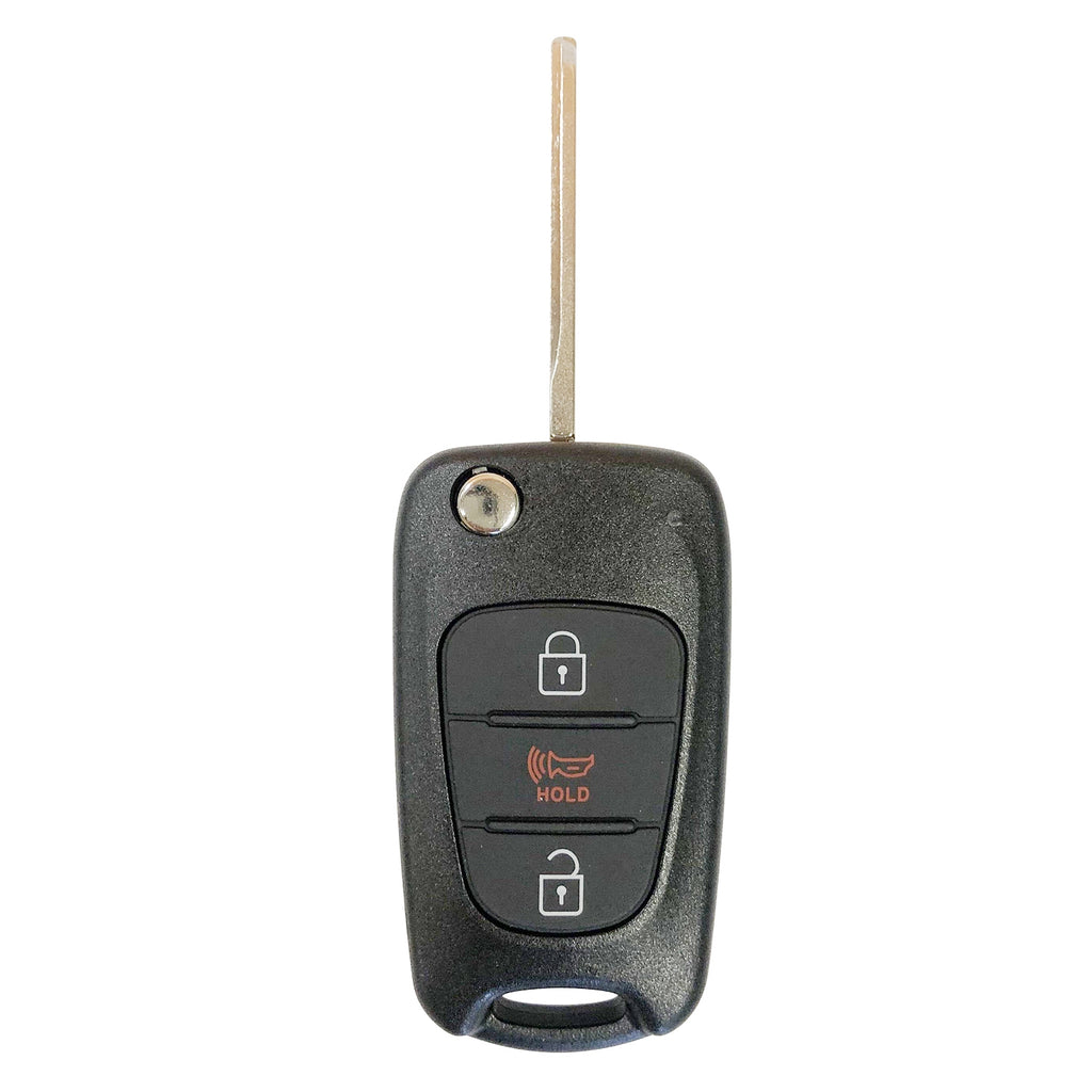 For 11-13 Kia Soul 12-13 Kia Sportage Remote Key LEASER NYOSEKSAM11ATX SKU: KR-K3RB