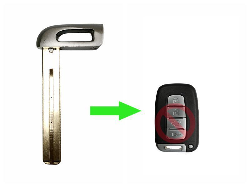 Emergency Key Blade for Hyundai Smart REMTOE SY5HMFNA04 SKU: CK-G05