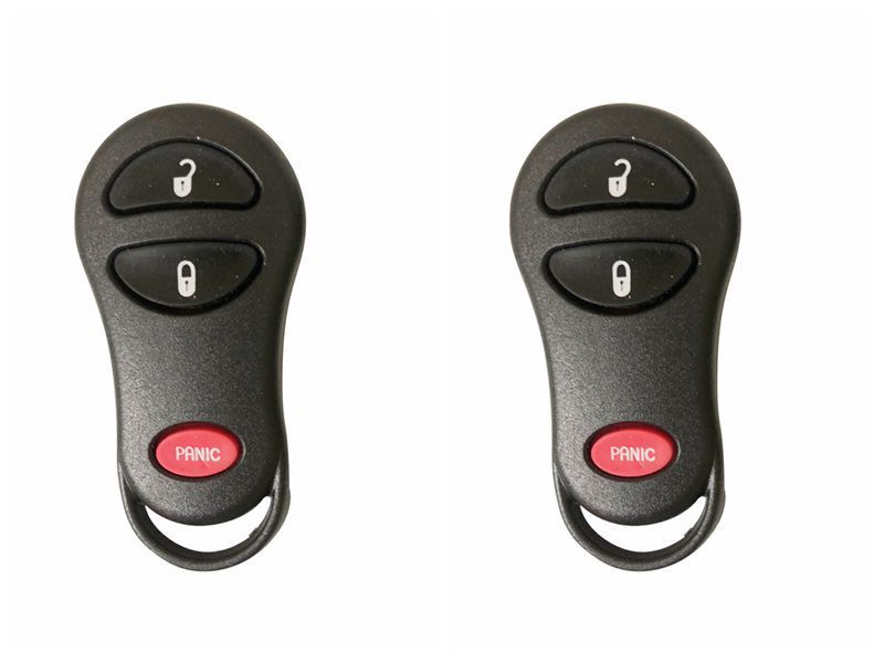 2X3 BTN Entry Remote Key Fob Case Shell For Dodge Ram1500 Dakota Durango Caravan