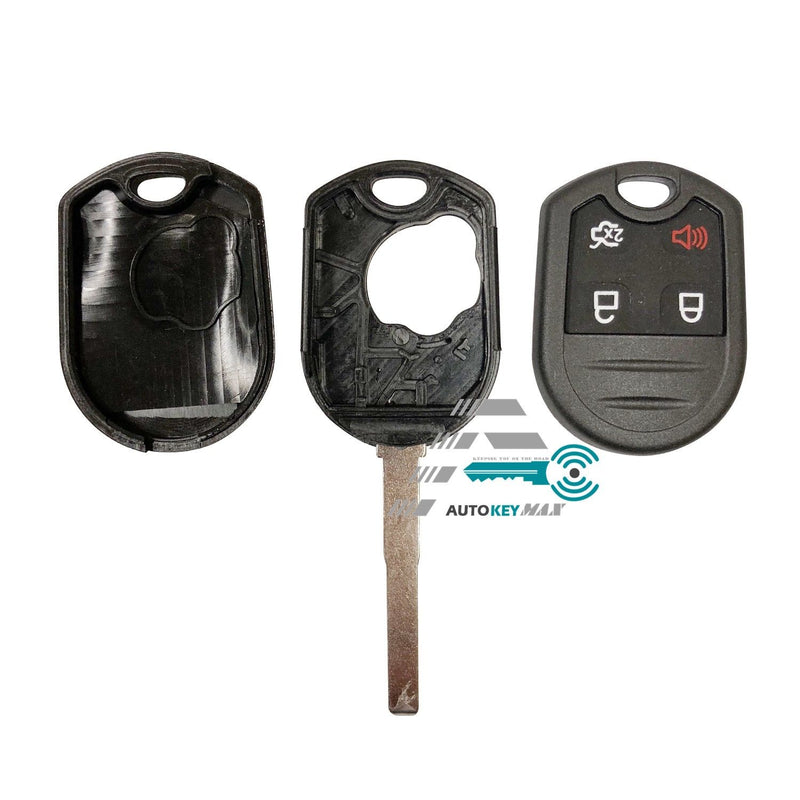 New Ford Replacement Remote Head Key Case Shell 4B High Security - HU101