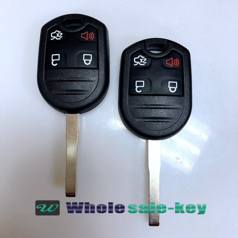 2 For 2011-2016 FORD FIESTA 4B KEYLESS REMOTE HEAD KEY FOB 164-R7976 5922964